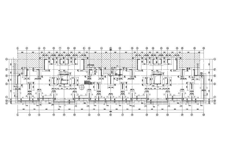 钢筋混凝土结构基础施工图