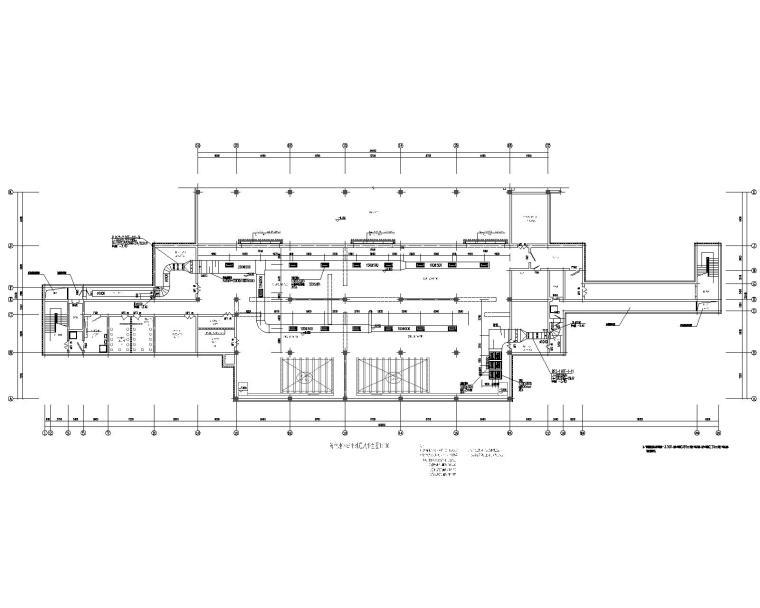 防空地下室汽车库通风排烟及战时通风设计图