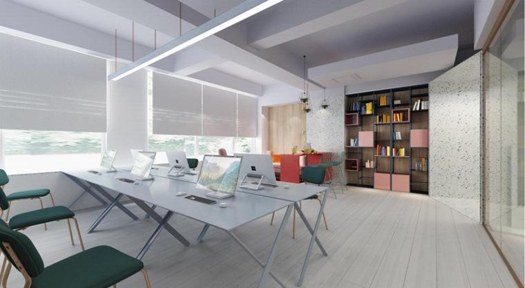 青岛办公室设计-当代都会空间设计