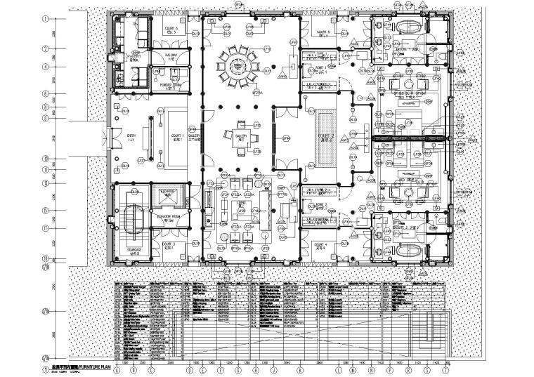[上海]斯翼-安缦酒店施工图+效果图+机电