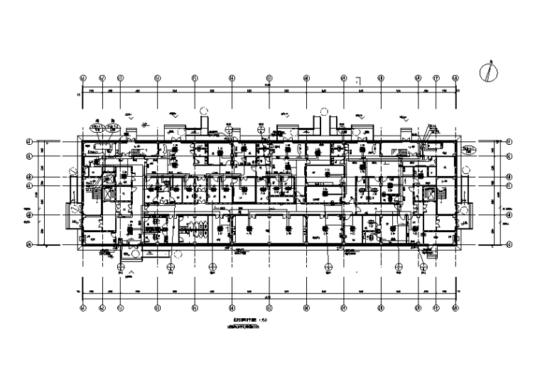 湖北医院感染病楼暖通设计施工图
