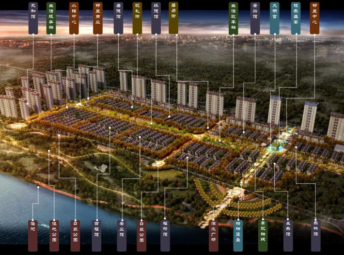 [陕西]新城西安泾河北岸规划设计方案文本