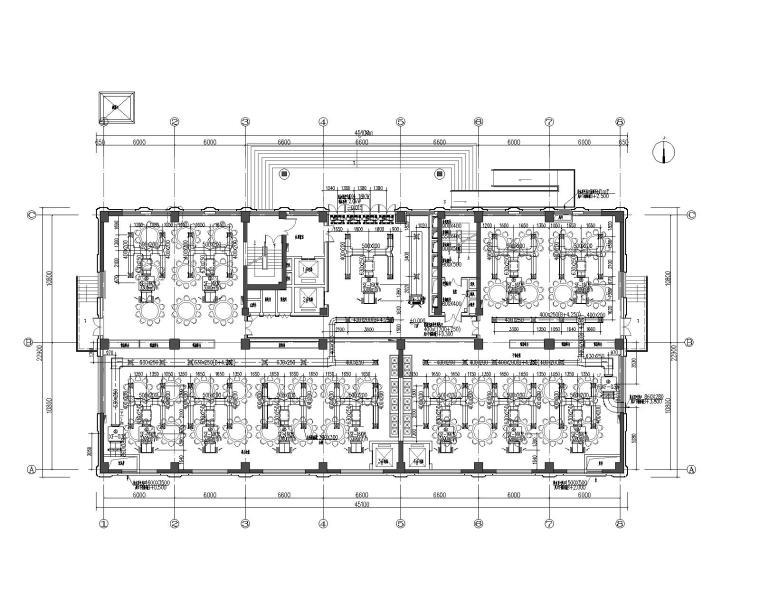 武警指挥部综合楼暖通设计(风冷热泵机组)