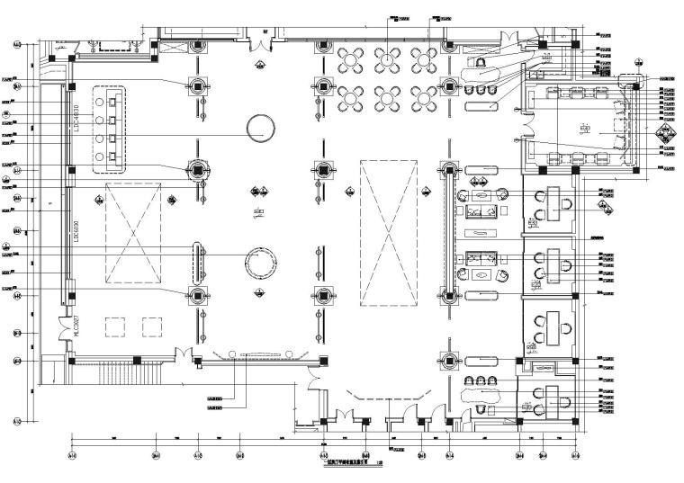 [上海]汉街新中式客栈装饰效果图+施工图