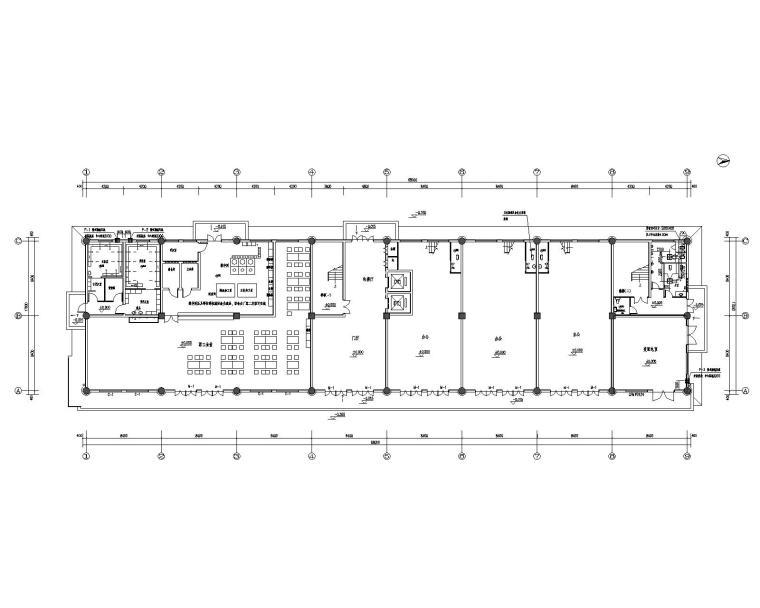 办公楼(产品展销中心)通风排烟设计施工图