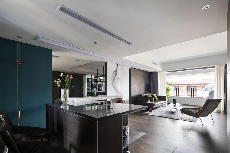 那些植物适合在室内养资料下载-室内高级灰风格住宅设计案例44套(1)