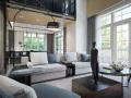复式别墅室内设计案例效果图合集81套(1)