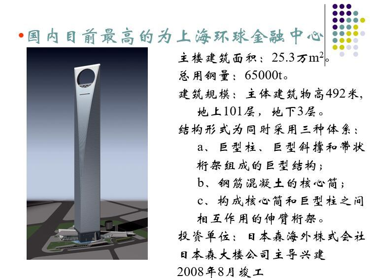高层钢结构房屋结构体系