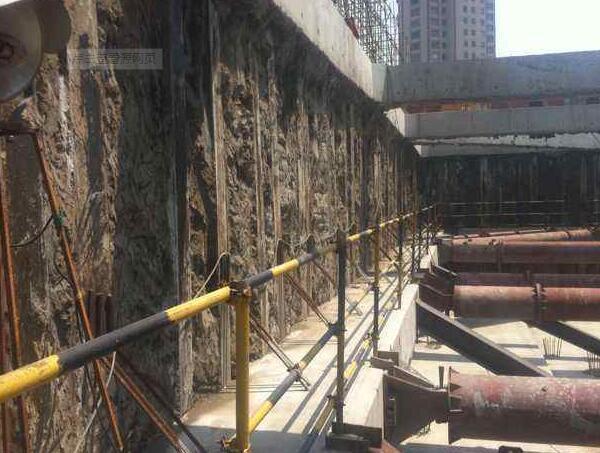 顶管井公路保护SMW工法桩施工方案
