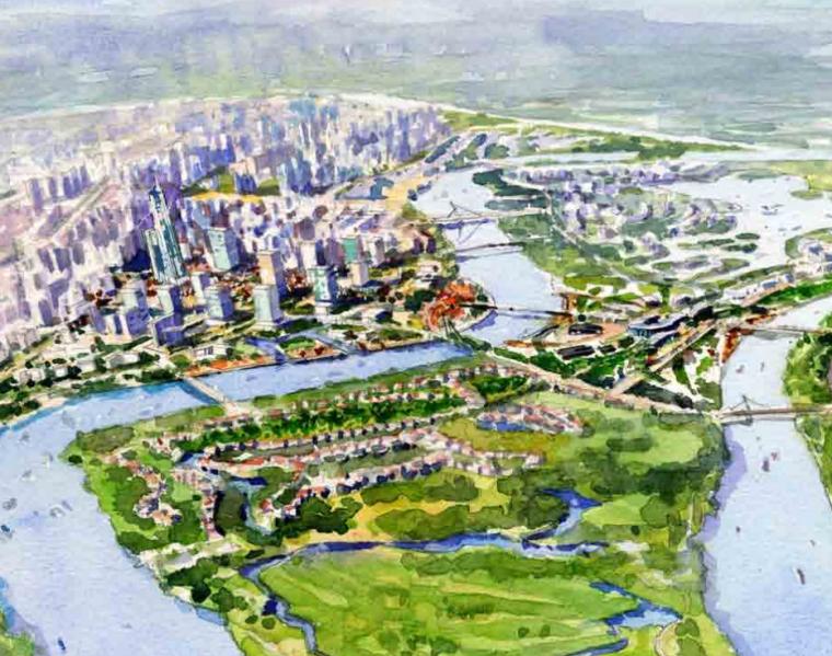 [天津]绿色生态城市规划设计方案文本