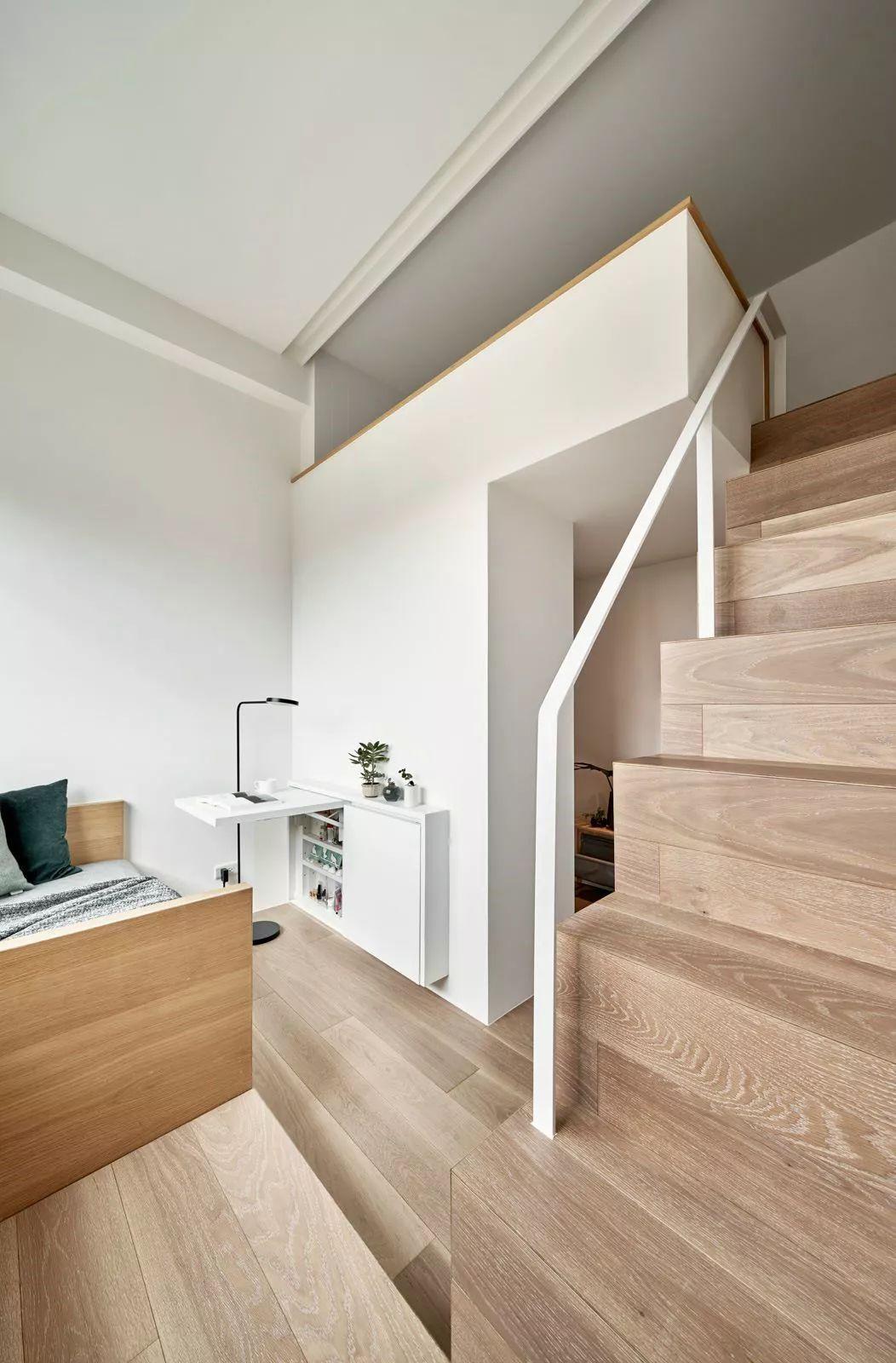 一个人的豪宅—17.6㎡极小公寓_14