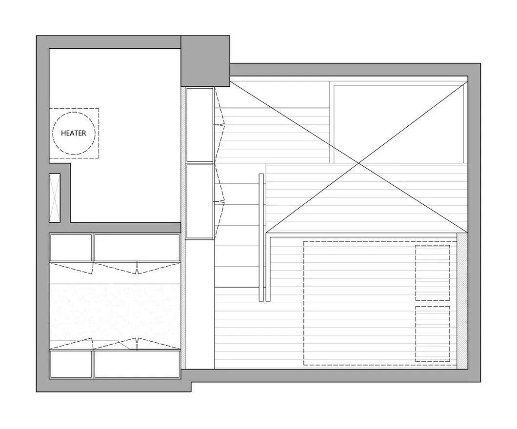 一个人的豪宅—17.6㎡极小公寓_22