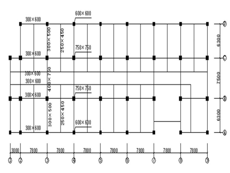 8层框架填充墙结构宿舍楼毕业设计计算书