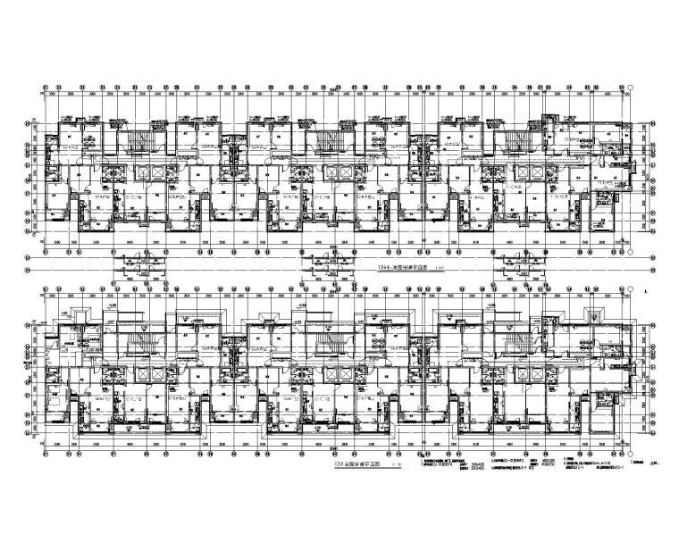 北京丰台区黄土岗居住项目住宅楼暖通设计图