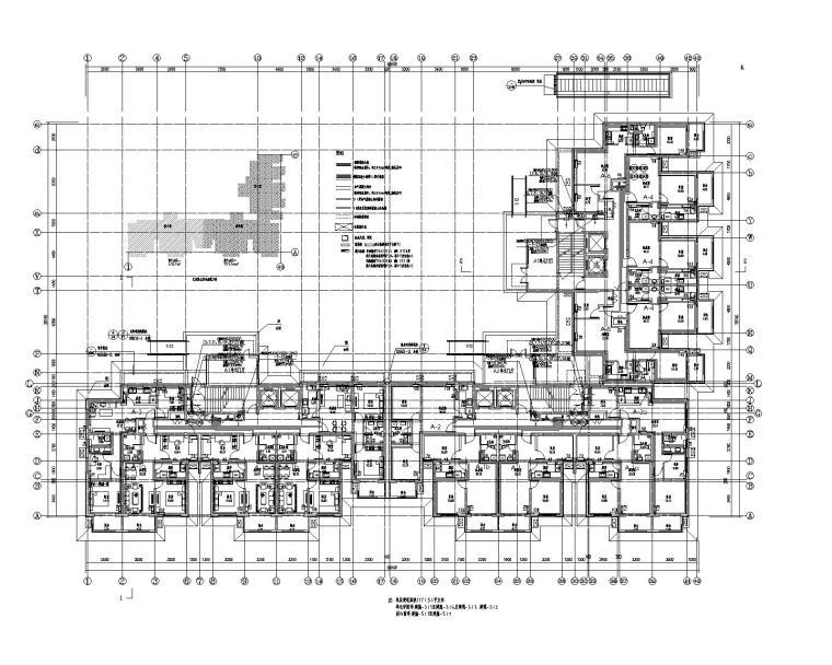 北京朝阳区星牌建材厂29层住宅楼暖通施工图