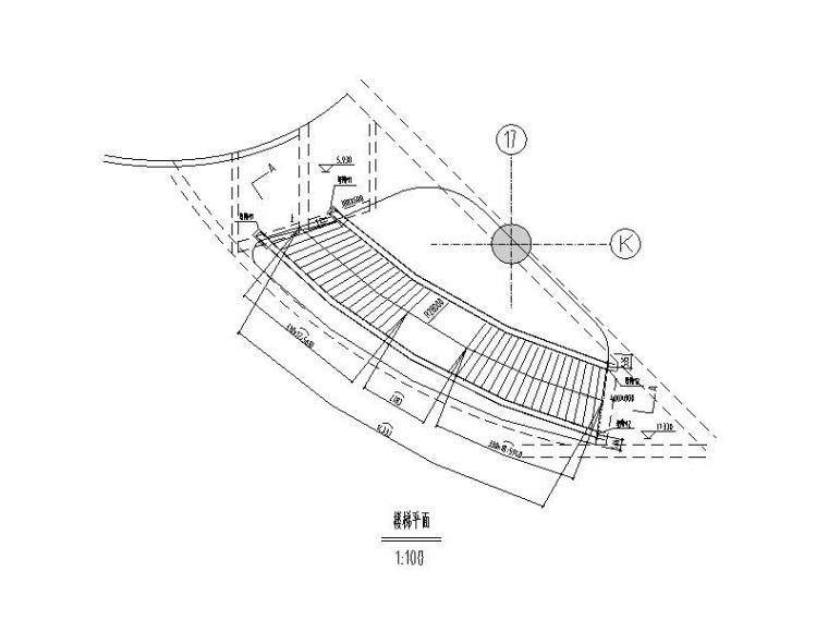 钢结构楼梯施工图
