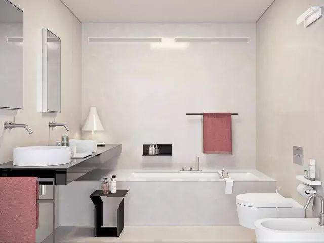 卫生间的100款设计方案,总有你中意的一款