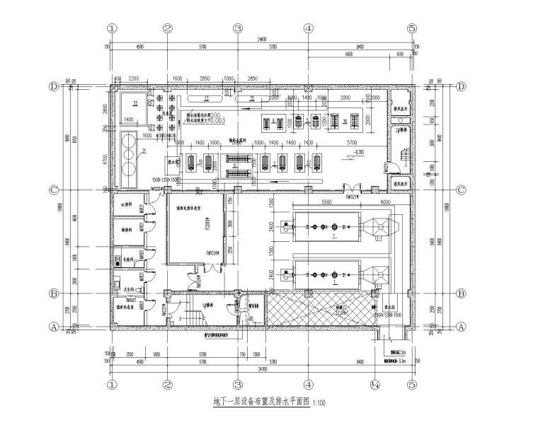 燃气锅炉房工程热力系统设计施工图