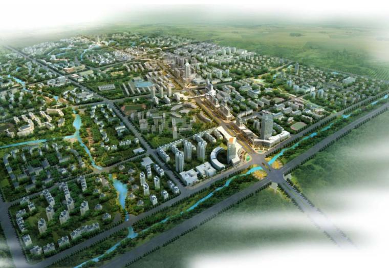 [四川]校城融合生态职教产业区建筑方案文本
