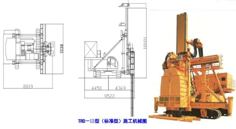 TRD-Ⅲ型(标准型)施工机械图