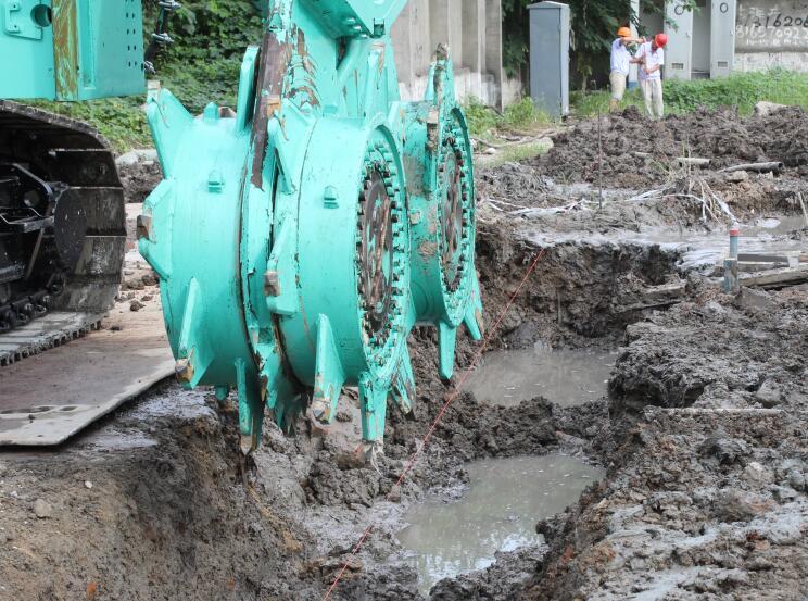 CSM桩基坑支护施工工法