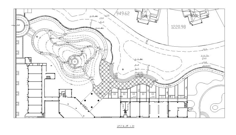 [浙江]无锡太湖别墅区样板区景观CAD施工图