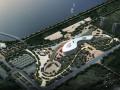[江苏]生态文体开放空间活动中心建筑方案图