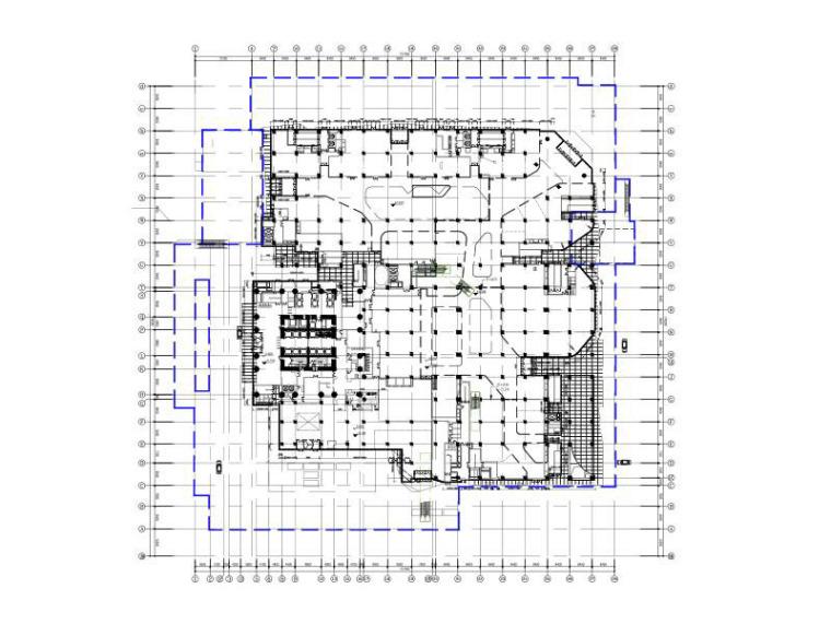 扬州金奥中心玻璃幕墙方案设计图(2017)