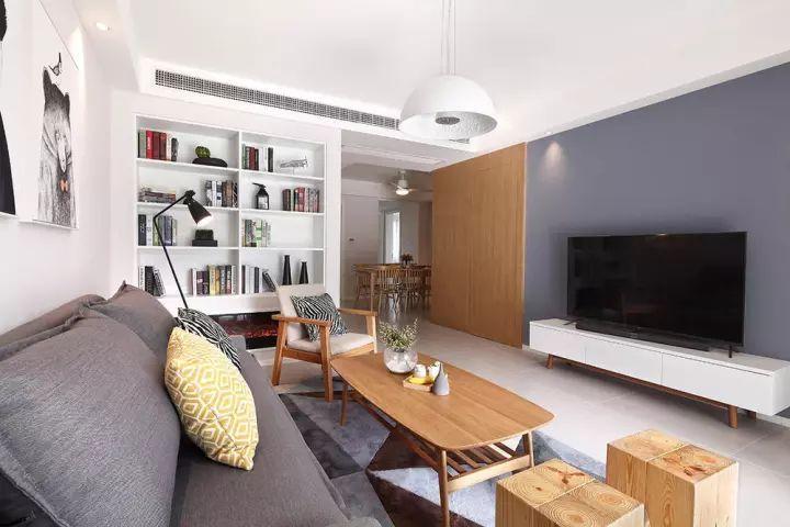 95㎡现代简约两居室