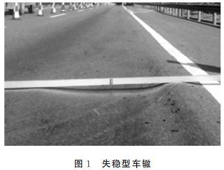 高速公路车辙产生的原因及处理措施
