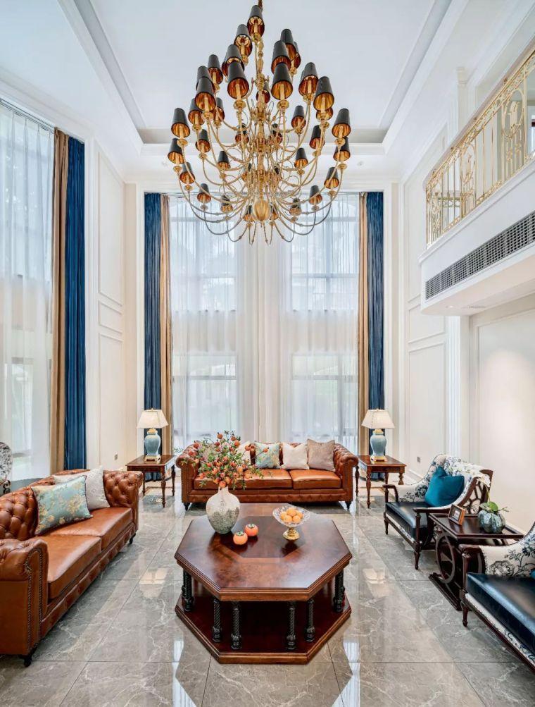496m²现代美式别墅设计,打造富有质感充满_2