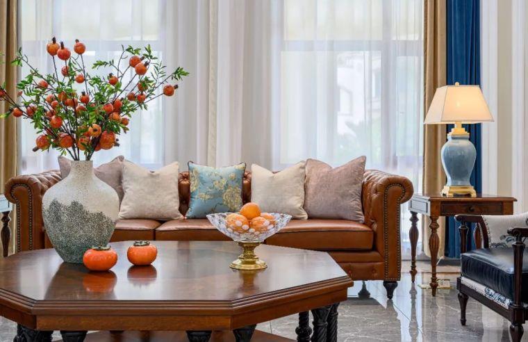 496m²现代美式别墅设计,打造富有质感充满_3