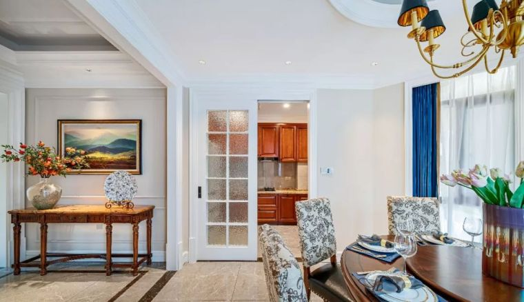 496m²现代美式别墅设计,打造富有质感充满_5