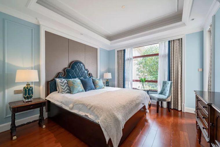 496m²现代美式别墅设计,打造富有质感充满_12