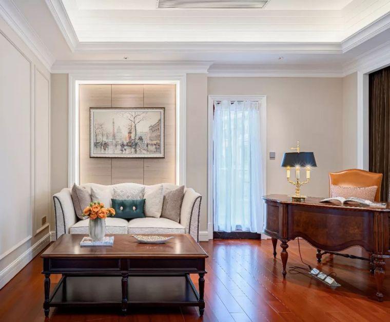 496m²现代美式别墅设计,打造富有质感充满_15