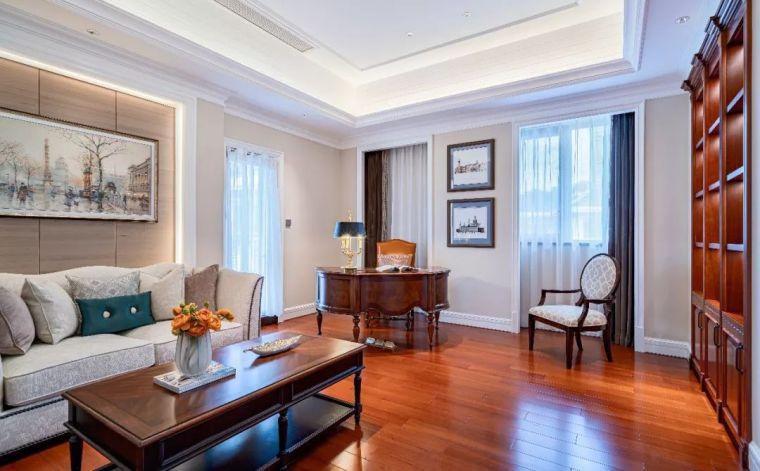 496m²现代美式别墅设计,打造富有质感充满_16