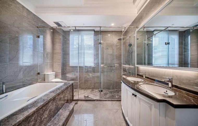 496m²现代美式别墅设计,打造富有质感充满_19