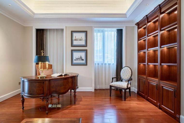 496m²现代美式别墅设计,打造富有质感充满_17
