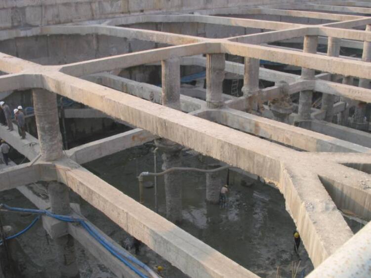 深基坑工程排桩多层支撑桩讲义