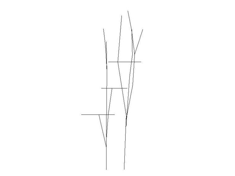 空间钢结构体系-树屋钢结构施工图