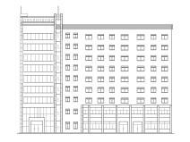L型多层底商住宅楼建筑施工图