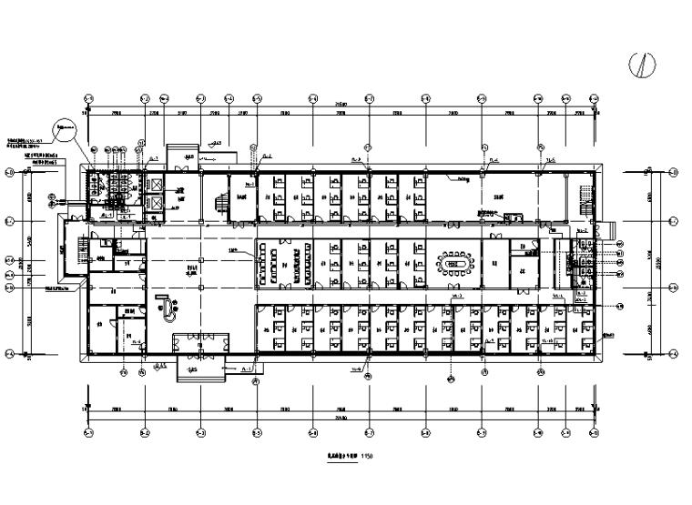 湖北医院行政楼给排水设计施工图