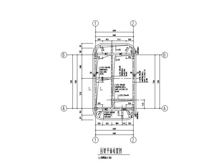 单层钢混框架结构液氧站结构施工图
