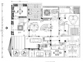 别墅庭院花园全套CAD施工图-含效果图