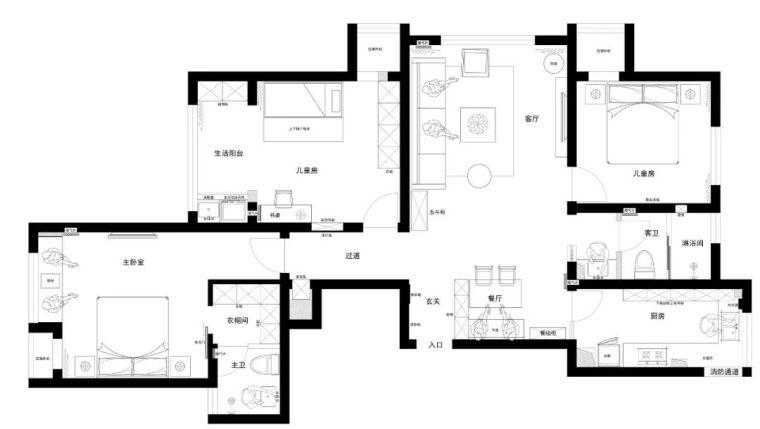 90后夫妻打造138㎡日式婚房,颜值爆表