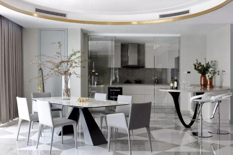 330㎡现代别墅设计,打造清风随涟漪的意境
