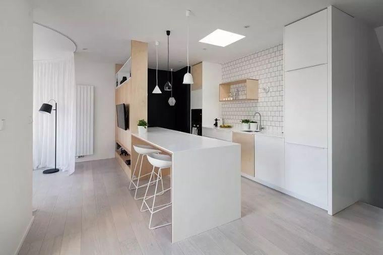40平loft现代简约风,个性化装修,楼梯设计