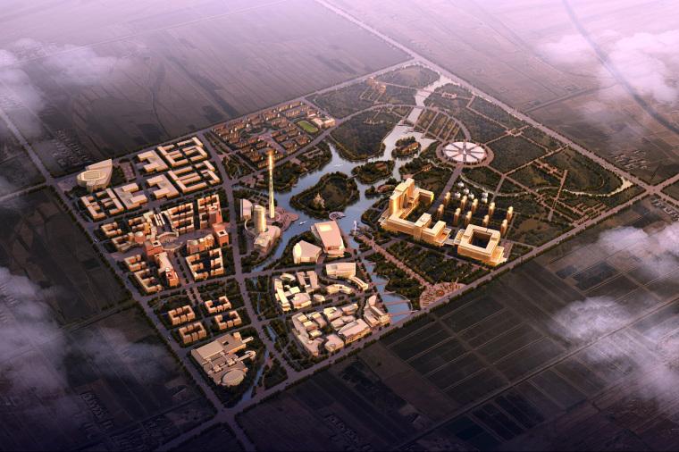 规划设计+文化建筑效果图合集