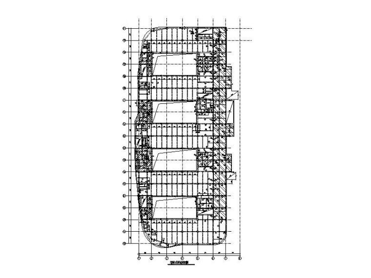 框架+框剪+钢框架医疗综合楼结构施工图