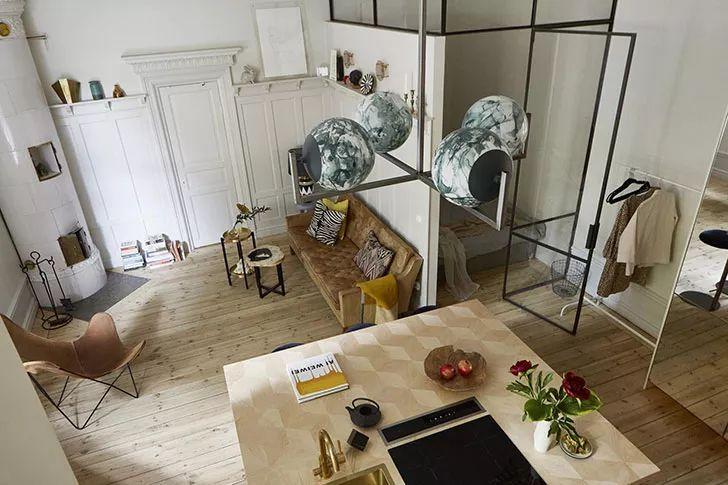 37平米超小公寓能容纳4个人?